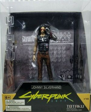 Фигурка Totaku Cyberpunk 2077 Johnny Silverhand Figure #45