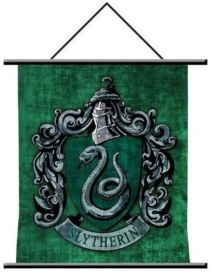 Harry Potter Slytherin Crest Wall Scroll