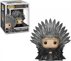 Фигурка Funko Pop Deluxe: Game of Thrones - Cersei Lannister Sitting On Iron Throne фанко Серсея