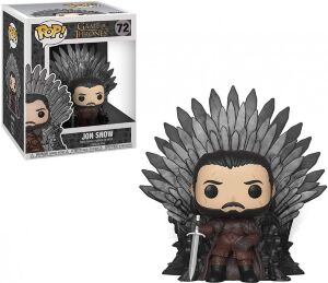 Фигурка Funko Pop Deluxe: Game of Thrones - Jon Snow Sitting On Iron Throne фанко Джон Сноу