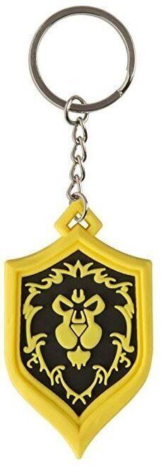 Брелок - World of Warcraft Alliance Pride Rubber Key Chain