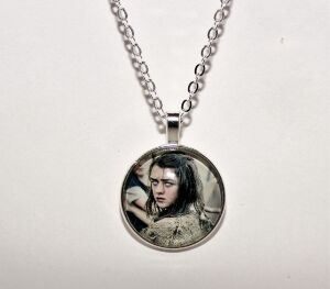 Медальон Game of Thrones Arya Stark (Арья Старк) grey