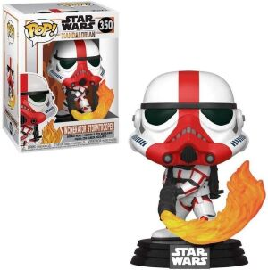 Фигурка Funko Star Wars The Mandalorian - Incinerator Stormtrooper Фанко Звёздные войны