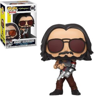 Фигурка Funko Pop Games: Cyberpunk 2077 - Johnny Silverhand 2 Figure фанко Киберпанк
