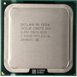 CPU INTEL CORE 2 DUO E6550