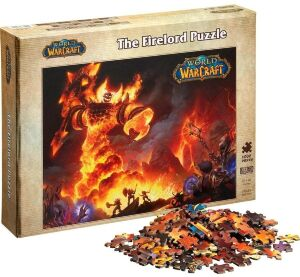 Пазл World of Warcraft: The Firelord Puzzle 1000-Piece