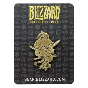 Значок Cute But Deadly Tyrande Pin - Gold Variant