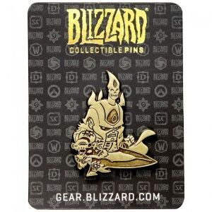Значок Cute But Deadly Arthas Pin - Gold Variant