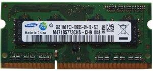 RAM 2GB 1RX8 PC3 10600S-09-10-ZZZ
