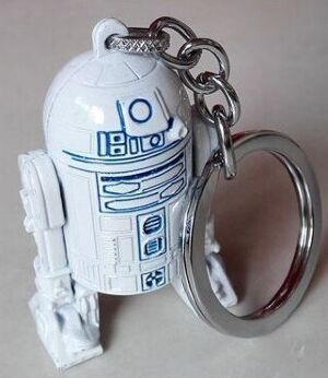 Брелок - Star Wars R2D2 Keychain