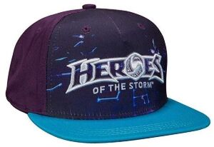 Кепка Heroes of The Storm - Space Grid Snapback Baseball Hat