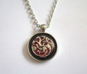 Медальон Game of Thrones House Targaryen