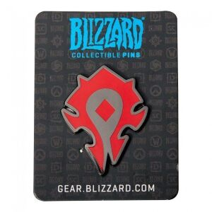 Значок 2016 Blizzcon Blizzard Collectible Pins - Horde Logo Pin