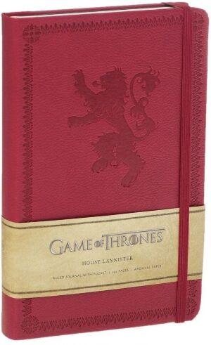 Блокнот Game of Thrones: House Lannister Journal - Ruled (Hardcover)
