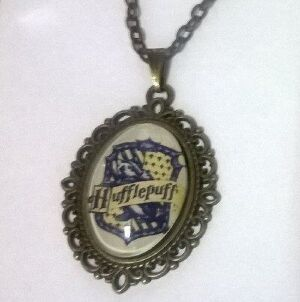 Медальон Harry Potter Hufflepuff 4х3 см.