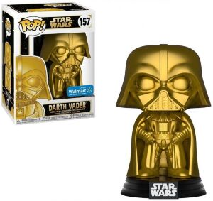 Фигурка Funko Pop! Star Wars - Darth Vader Gold Figure #157 Exclusive